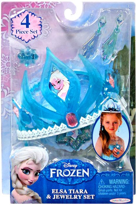 Disney Frozen Elsa Tiara & Jewelry Set Dress Up Toy