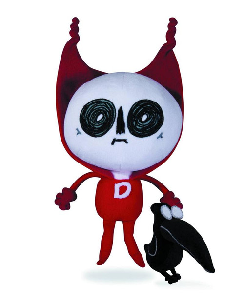 DC Nation Deadman & Crow Plush 2-Pack