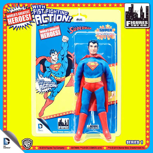 DC Super Powers World's Greatest Heroes Series 1 Superman Action Figure