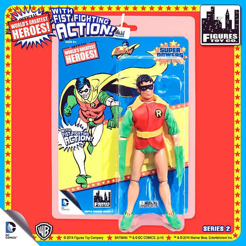 Batman World's Greatest Heroes Super Powers Series 2 Robin Action Figures