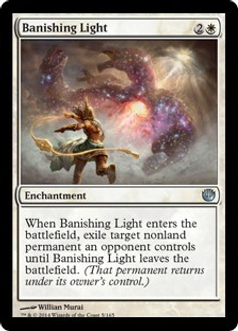 MtG Journey Into Nyx Uncommon Banishing Light #5