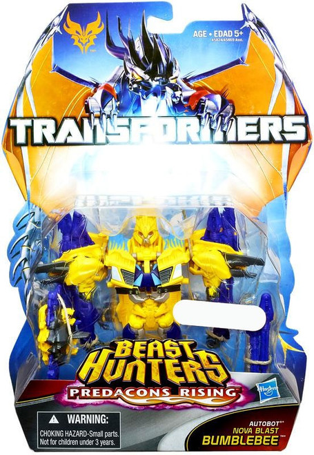 "Transformers Prime Beast Hunters Predacons Rising Nova Blast Bumblebee Exclusive 6"" Action Figure"