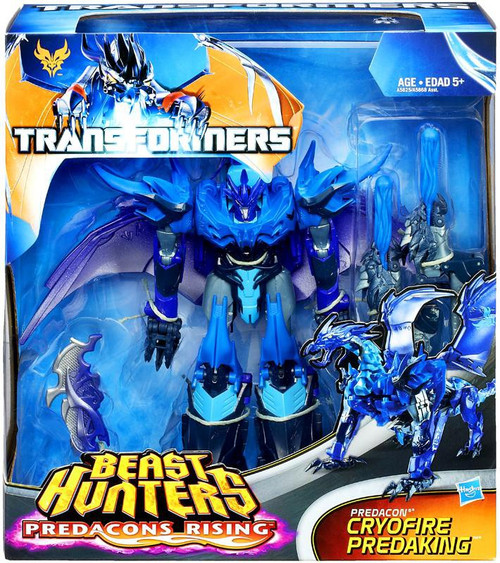 Transformers Prime Beast Hunters Predacons Rising Cryofire Predaking Exclusive Action Figure