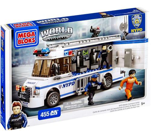Mega Bloks American Builders Mobil Command Center Set #97851 [NYPD]