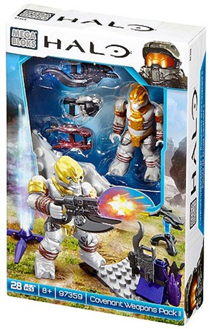 Mega Bloks Halo Covenant Weapons Pack II Set #97359