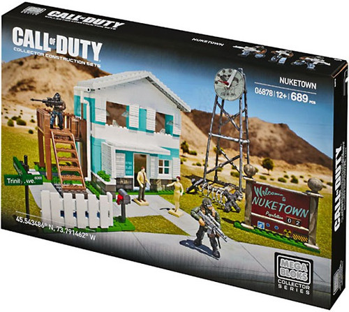 Mega Bloks Call of Duty Nuketown Set #06878