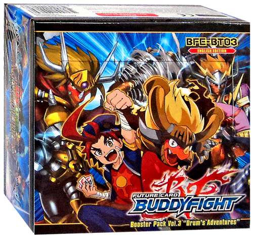Future Card BuddyFight Trading Card Game Drum's Adventures Booster Box BFE-BT03 [30 Packs]