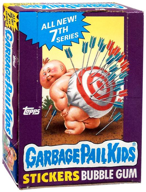 Garbage Pail Kids Topps All New 7th Series Trading Card Sticker Box [48 Packs]