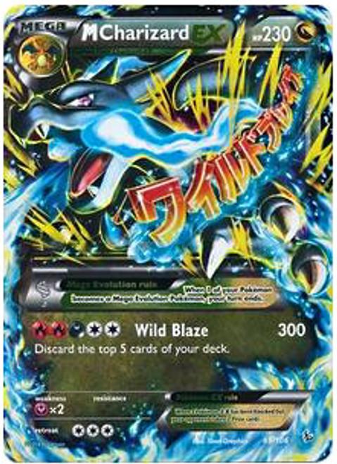 Pokemon X & Y Flashfire Ultra Rare M Charizard EX #69