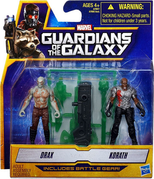Marvel Guardians of the Galaxy Drax & Korath Action Figure Set