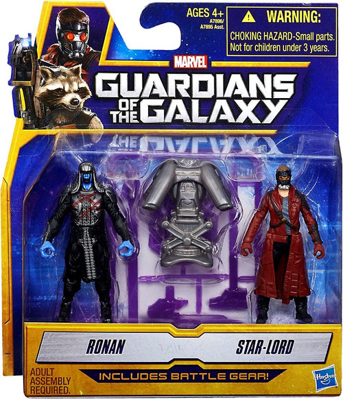 Marvel Guardians of the Galaxy Ronan & Star-Lord Action Figure Set