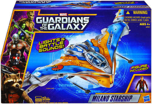 Marvel Guardians of the Galaxy Milano Starship Action Figure Vehicle