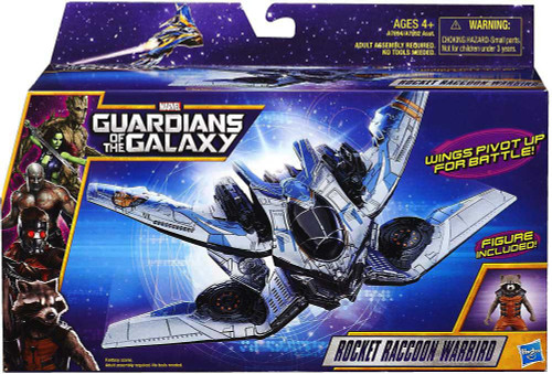 Marvel Guardians of the Galaxy Rocket Raccoon Warbird Action Figure Vehicle