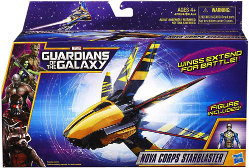 Marvel Guardians of the Galaxy Nova Corps Starblaster Action Figure Vehicle