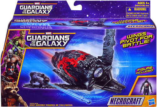 Marvel Guardians of the Galaxy Necrocraft Action Figure Vehicle