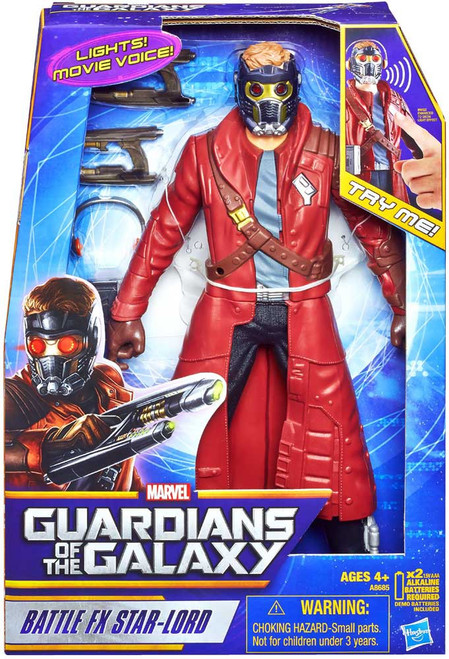 Marvel Guardians of the Galaxy Battle FX Star-Lord Action Figure