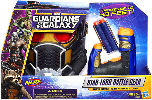 Marvel Guardians of the Galaxy Nerf Star-Lord Battle Gear Roleplay Toy