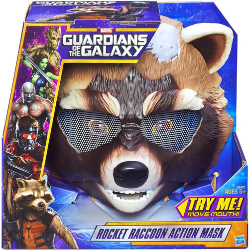 Marvel Guardians of the Galaxy Action Mask Rocket Raccoon Roleplay Toy
