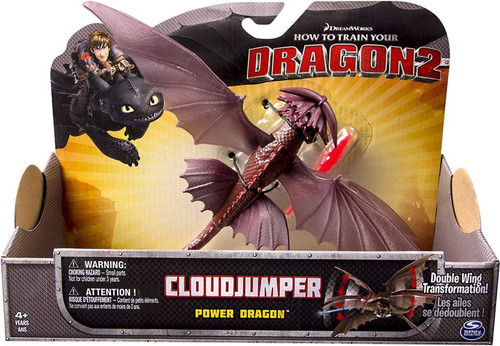 How to Train Your Dragon 2 Power Dragons Cloudjumper Action Figure