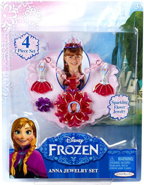 Disney Frozen Anna Jewelry Set Dress Up Toy