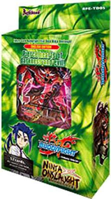 Future Card BuddyFight Trading Card Game Ninja Onslaught Trial Deck BFE-TD05