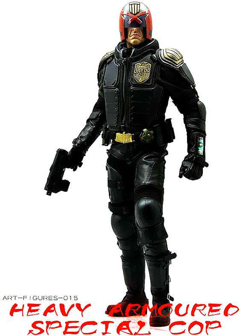Really Hot toys Mega City Cop Collectible Figure [AF-015]