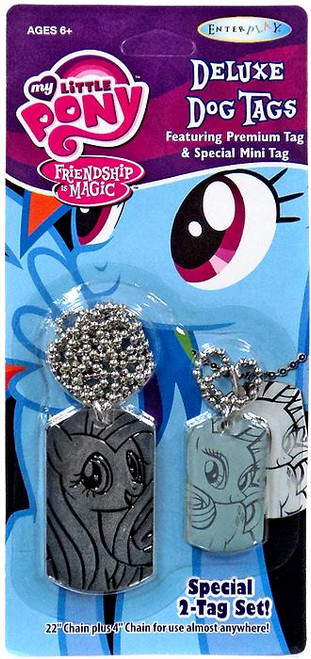 My Little Pony Friendship is Magic Fluttershy & Rarity Dog Tag 2-Pack