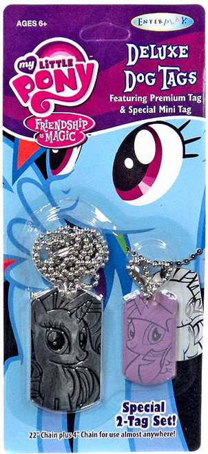 My Little Pony Friendship is Magic Rarity & Twilight Sparkle Dog Tag 2-Pack