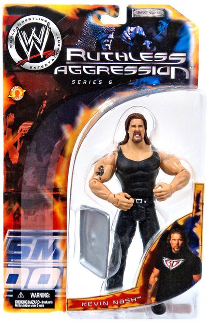 WWE Wrestling Ruthless Aggression Series 5 Kevin Nash Action Figure
