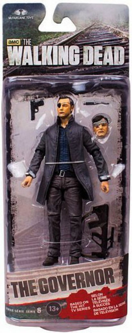 McFarlane Toys The Walking Dead AMC TV Series 6 Governor with Long Coat Action Figure