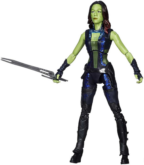 Guardians of the Galaxy Marvel Legends Groot Series Gamora Action Figure [Loose no Groot Piece]