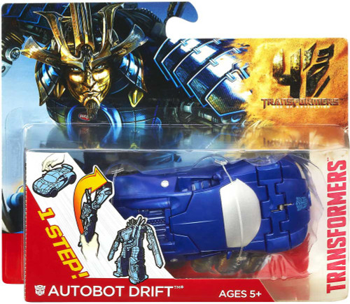 Transformers Age of Extinction 1 Step Changer Autobot Drift Car Action Figure