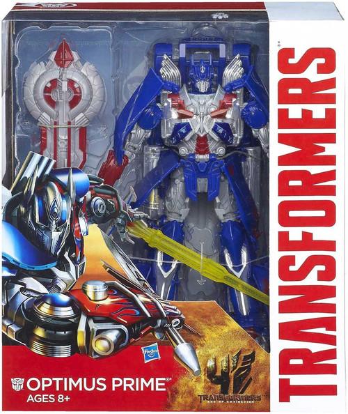 Transformers Age of Extinction Generations Optimus Prime Leader Action Figure