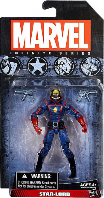 Marvel Guardians of the Galaxy Infinite Series 4 Star-Lord Action Figure