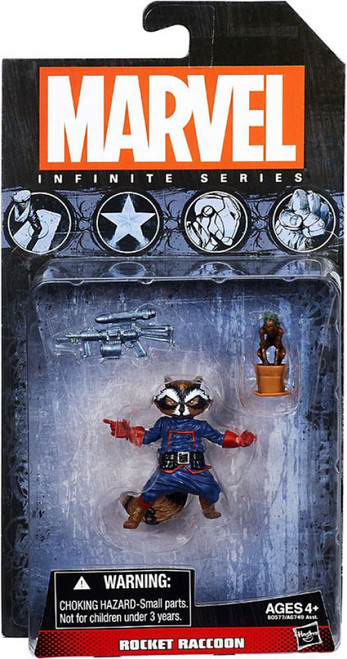Marvel Guardians of the Galaxy Infinite Series 4 Rocket Raccoon Action Figure
