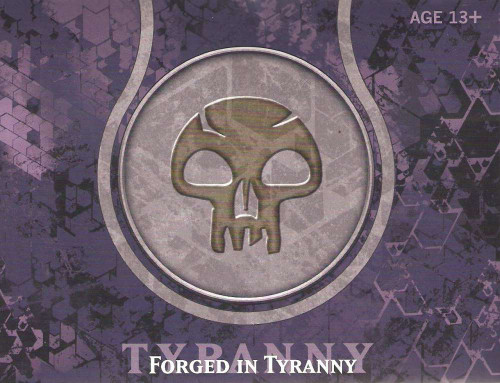 MtG Trading Card Game Journey into Nyx Forged in Tyranny Pre-Release Pack