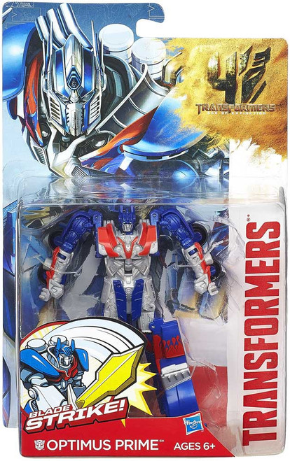 Transformers Age of Extinction Power Battler Optimus Prime Action Figure
