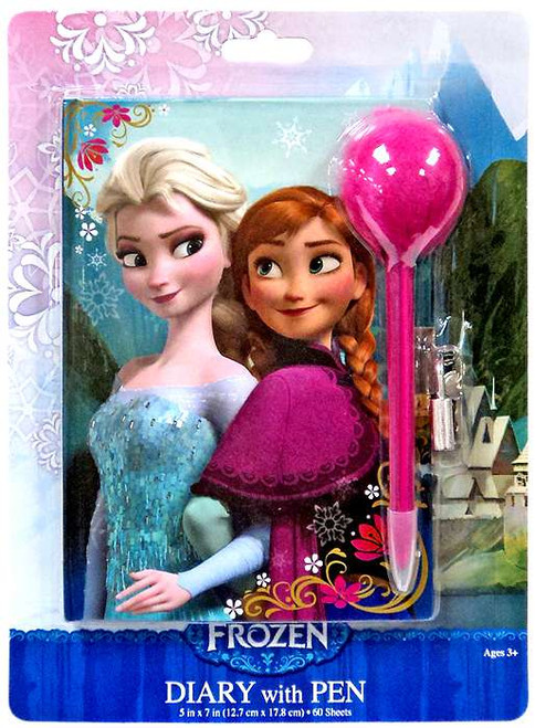 Disney Frozen Anna & Elsa Diary with Pen