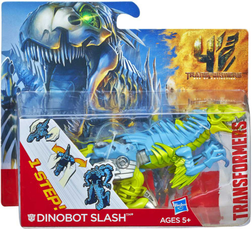 Transformers Age of Extinction 1 Step Changer Dinobot Slash Action Figure