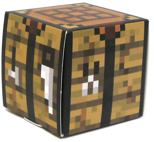 Minecraft Crafting Table Papercraft [Single Piece]