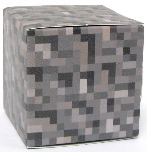 Minecraft Gravel Block Papercraft [Single Piece]