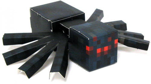 Minecraft Cave Spider Papercraft [Single Piece]
