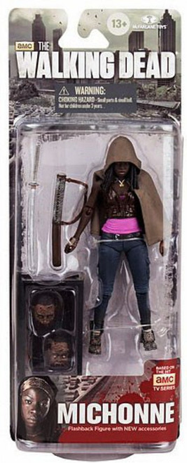 McFarlane Toys The Walking Dead AMC TV Series 6 Michonne Action Figure [Fish Tank & 2 Heads]
