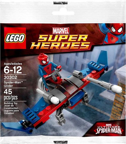 LEGO Marvel Super Heroes Ultimate Spider-Man Spider-Man Glider Exclusive Mini Set #30302 [Bagged]