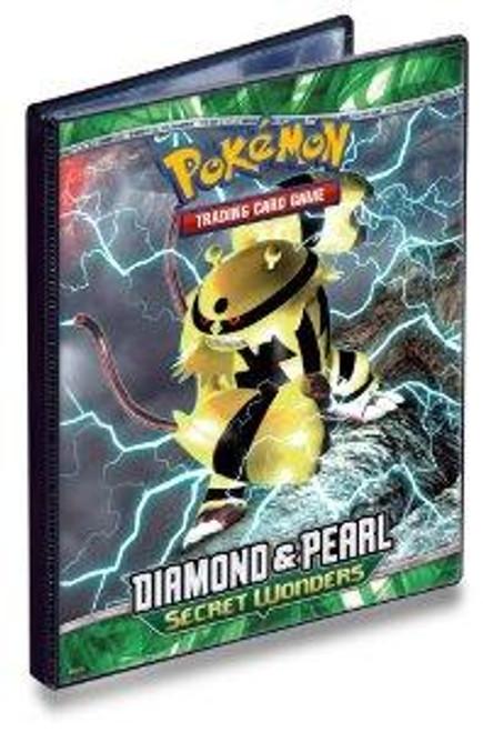 Ultra Pro Pokemon Diamond & Pearl Secret Wonders 4-Pocket Binder