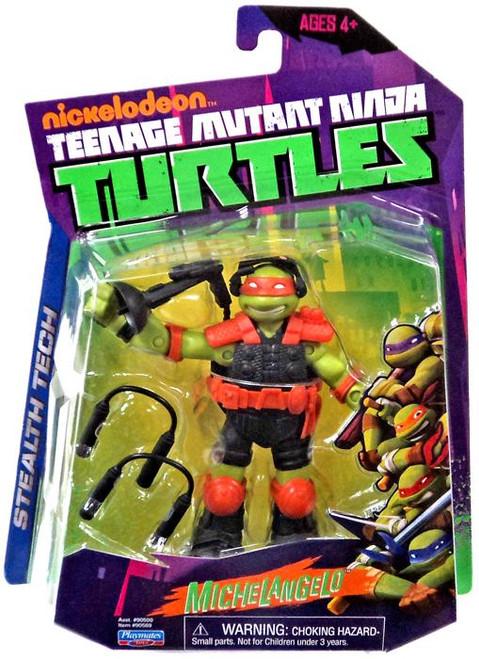 Teenage Mutant Ninja Turtles Nickelodeon Stealth Tech Michelangelo Action Figure [Without Zip Line]
