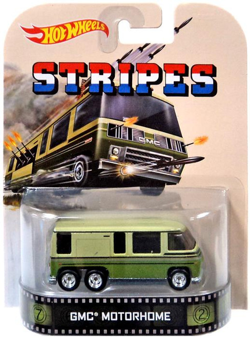 Hot Wheels Stripes HW Retro Entertainment GMC Motorhome Die-Cast Car