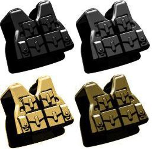 BrickArms Combat Vest LCV SAW 2.5-Inch [Set of 4]