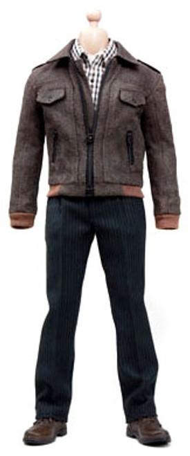 1/6 Fashion Leather Bomber Jacket Clothing Set [POP-F8]
