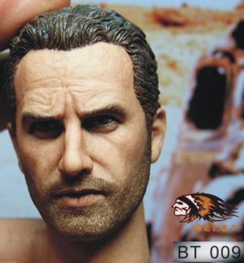 Rick Head Action Figure Accessory